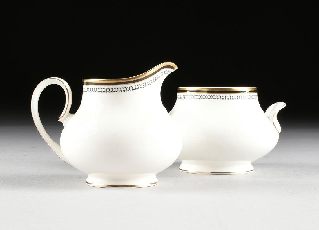 A SIXTY-THREE PIECE ROYAL DOULTON GILT AND ENAMEL - 6