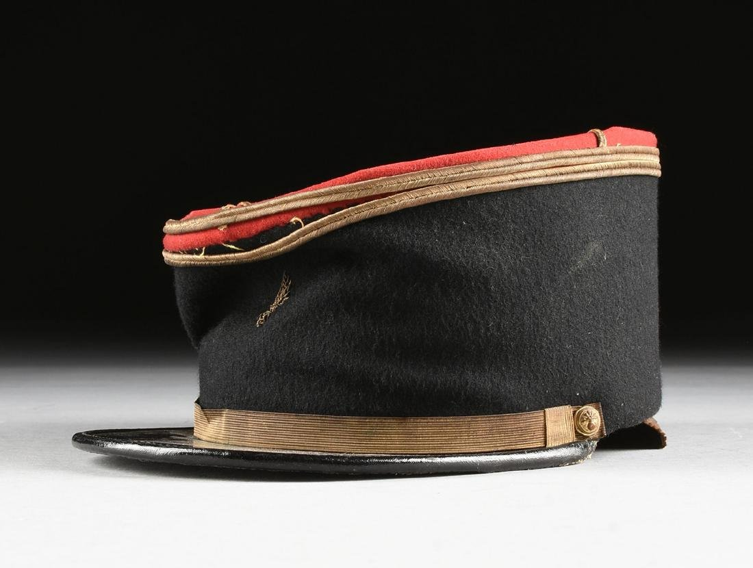 A GROUP OF THREE CONTINENTAL MILITARY HATS, CIRCA - 12