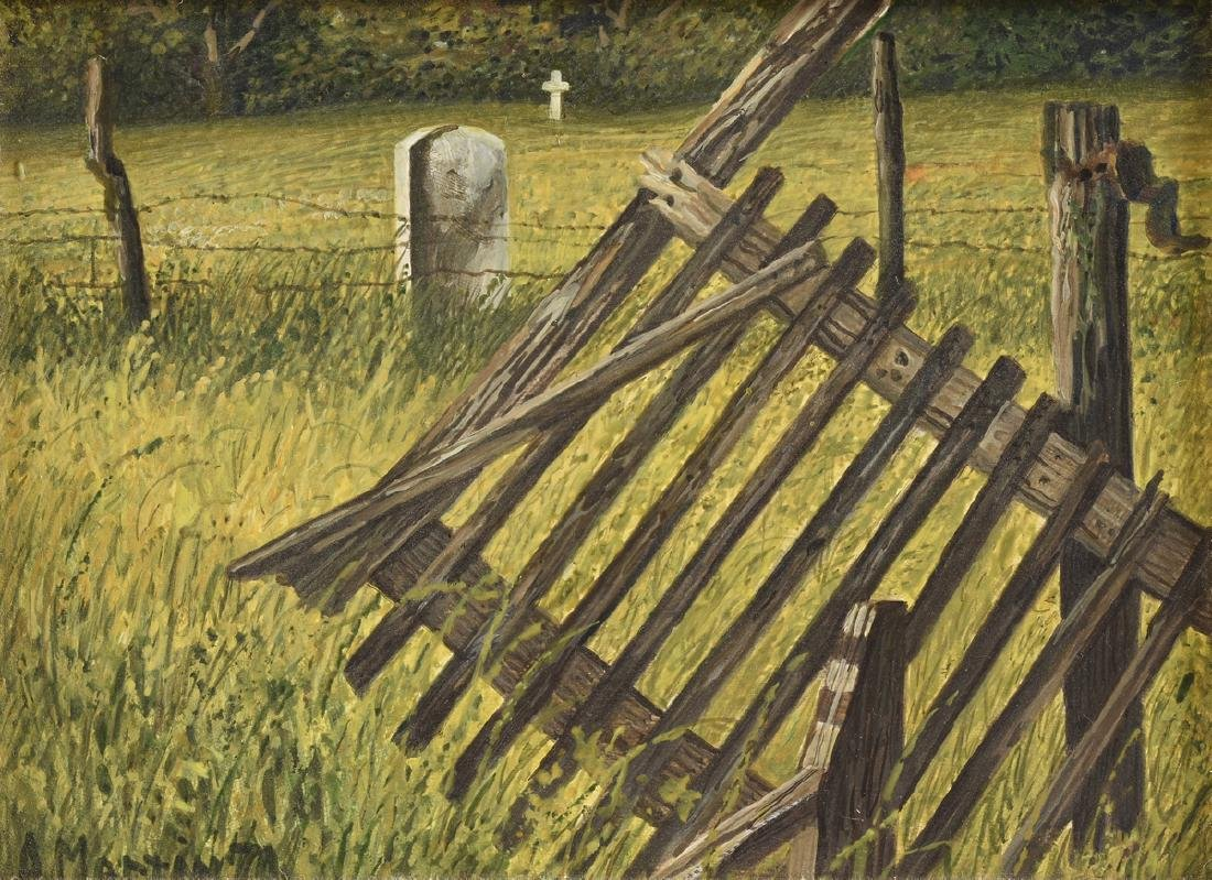 ANTHONY MARTIN (American/Texas b. 1941) A PAINTING,