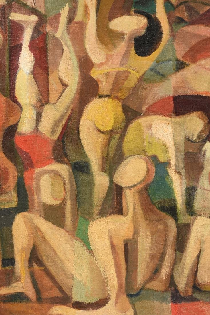 """FISCHER (American 20th Century) A PAINTING, """"Surreal - 6"""
