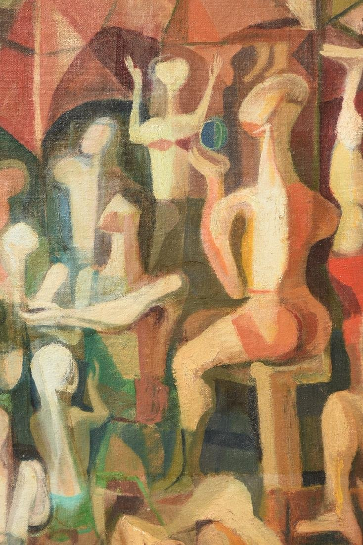 """FISCHER (American 20th Century) A PAINTING, """"Surreal - 7"""
