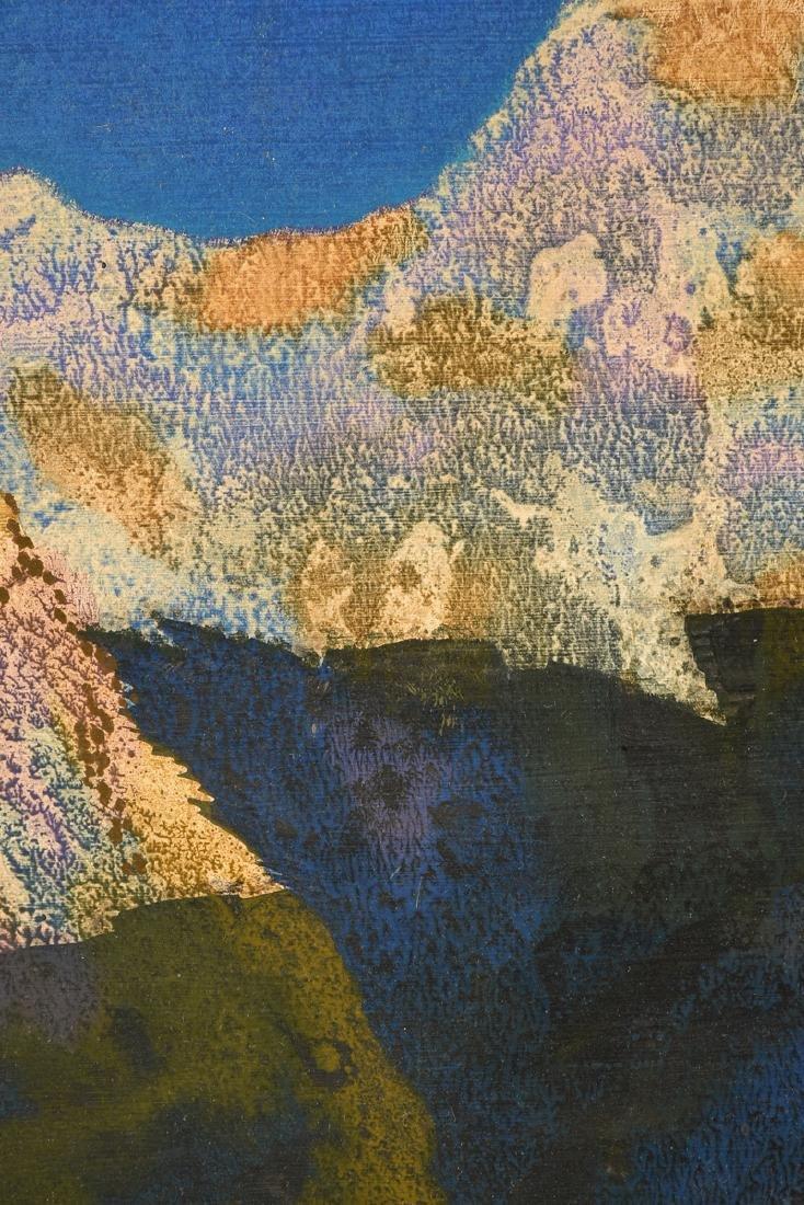 "JAN HOOWIJ (American 1907-1987) A PAINTING, ""Early - 6"