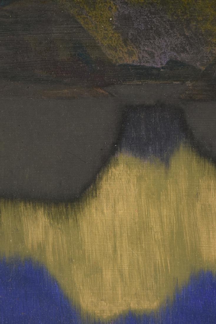 "JAN HOOWIJ (American 1907-1987) A PAINTING, ""Early - 9"