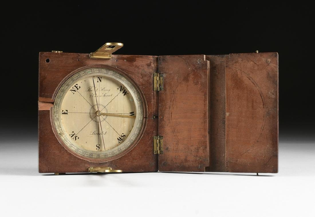 A THOMAS D. KING (English 1819-1884) SILVERED BRASS BOX