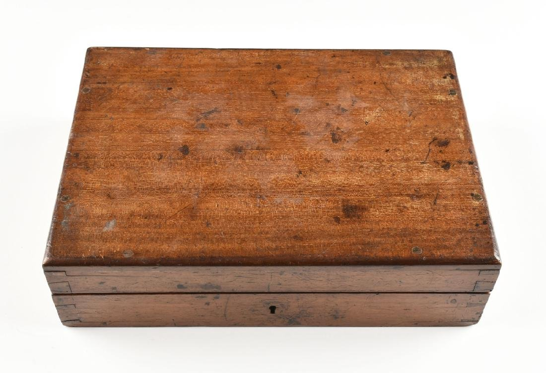 A JOHN DAVIS & SON, LTD. CASED BRASS RIGID DIAL, DERBY, - 6