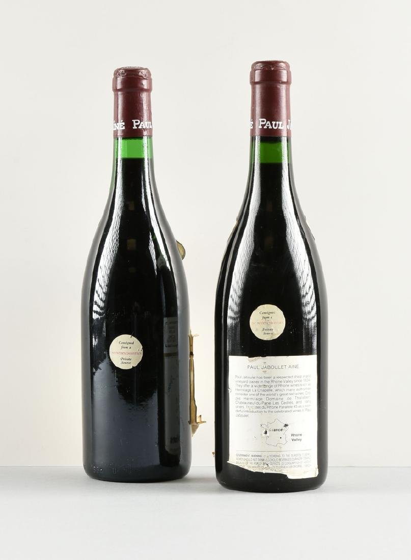 A GROUP OF ONE 1979 AND ONE 1988 BOTTLES OF HERMITAGE - 4