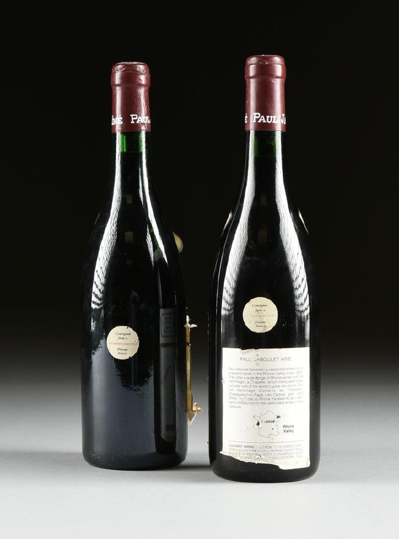 A GROUP OF ONE 1979 AND ONE 1988 BOTTLES OF HERMITAGE - 5