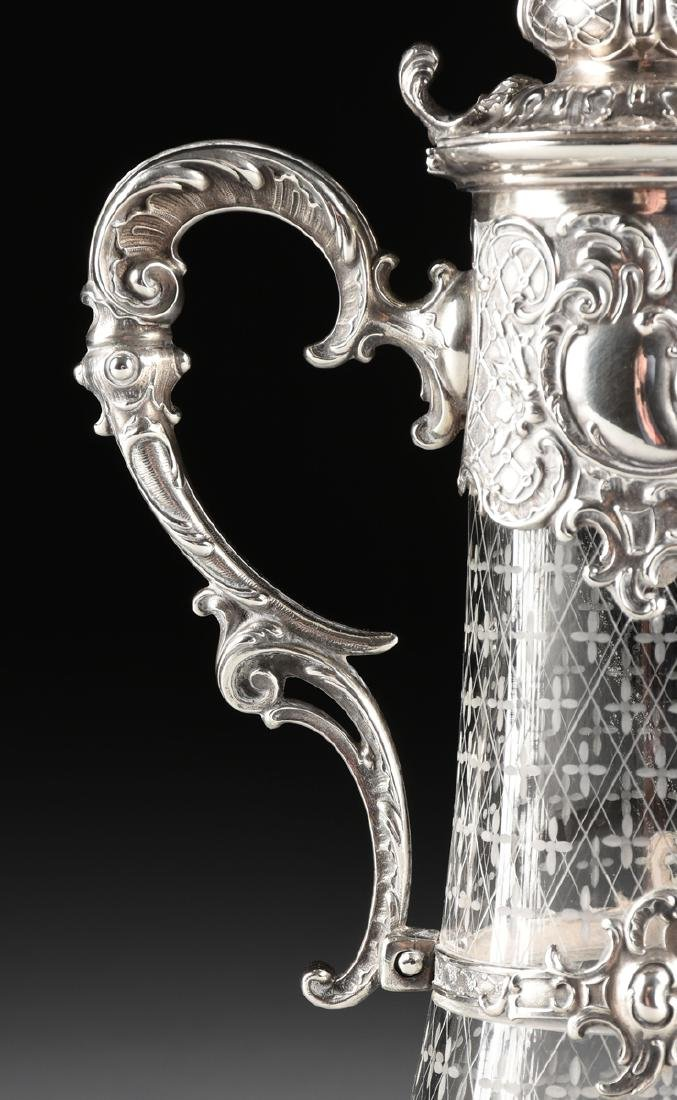 A BRUCKMANN & SOHNE 800 STANDARD SILVER AND ETCHED - 4