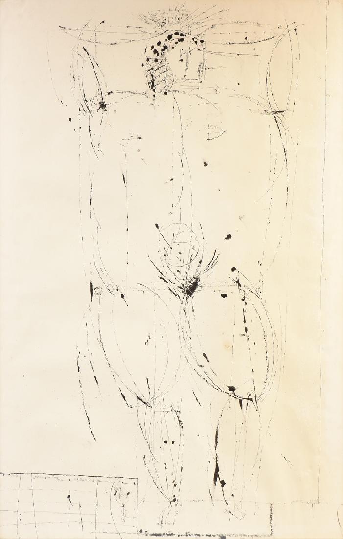 JOSEPH GLASCO (American 1948-1986) A DRAWING,