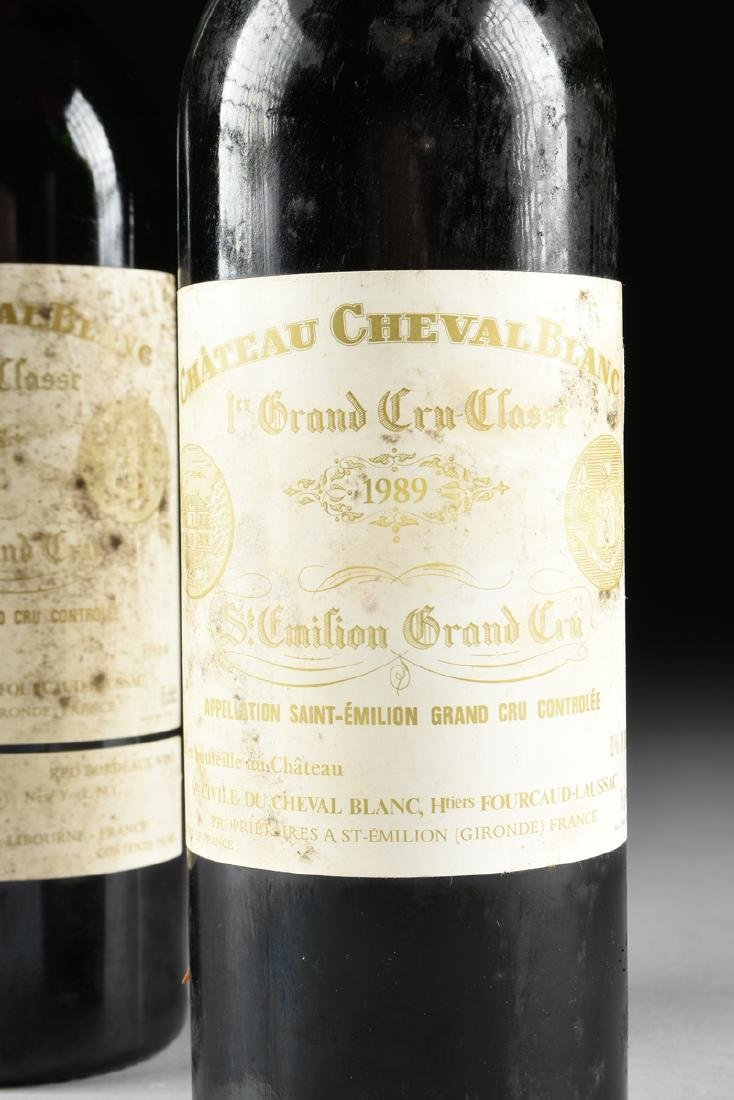 A GROUP OF ONE 1989 AND ONE 1988 BOTTLE OF CHÂTEAU - 2
