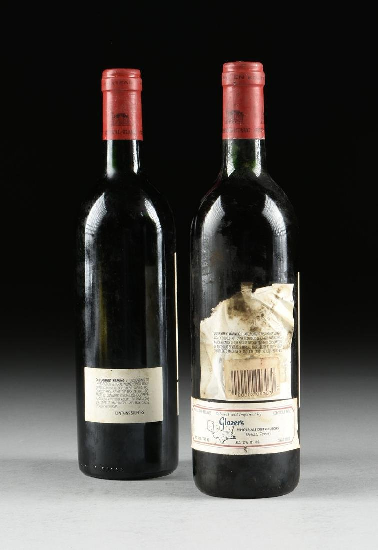 A GROUP OF ONE 1989 AND ONE 1988 BOTTLE OF CHÂTEAU - 6
