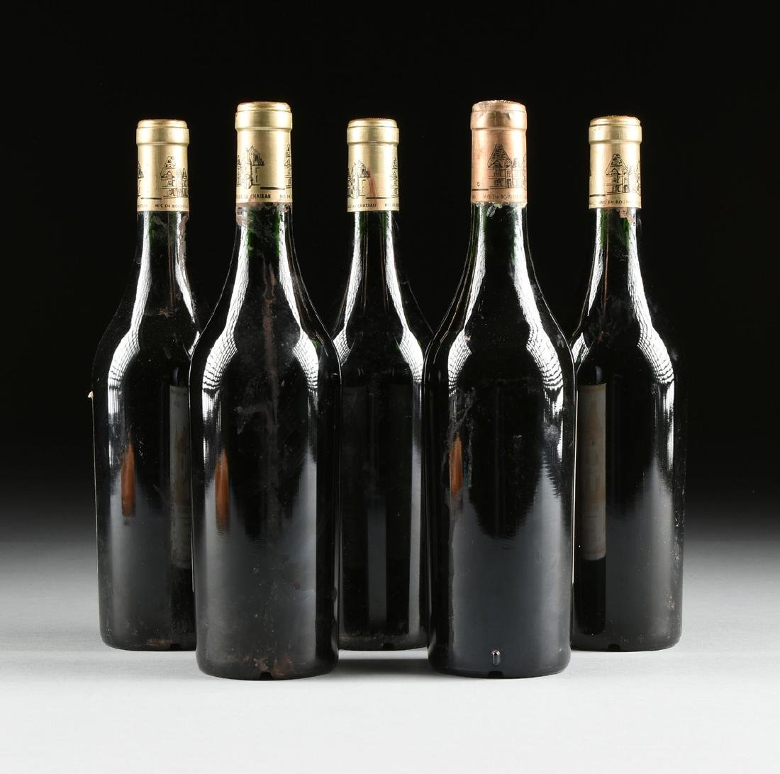 A GROUP OF ONE 1998 AND FOUR 1997 BOTTLES OF CHÂTEAU - 5