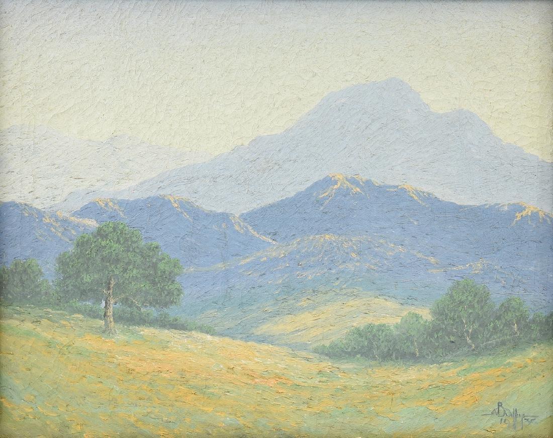 ARTHUR JEFFREYS (American/Texas 1892-1970) A PAINTING,