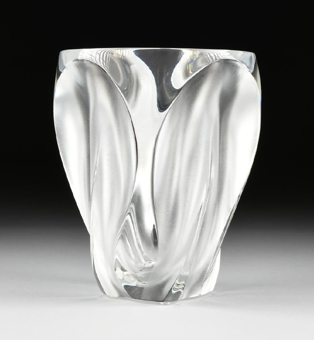MARC LALIQUE (French 1900-1977) A CLEAR AND FROSTED