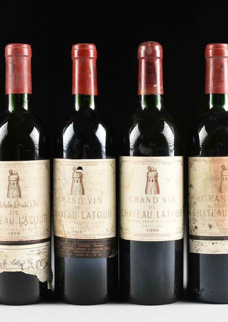 A MIXED GROUP OF SIX BOTTLES OF GRAND VIN DE CHÂTEAU - 4