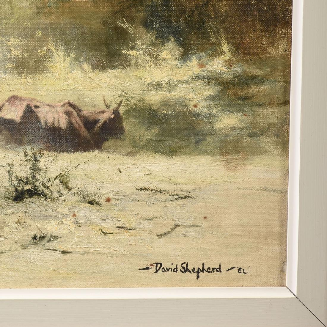 "DAVID SHEPHERD (British 1931-2017) A PAINTING, ""The - 5"