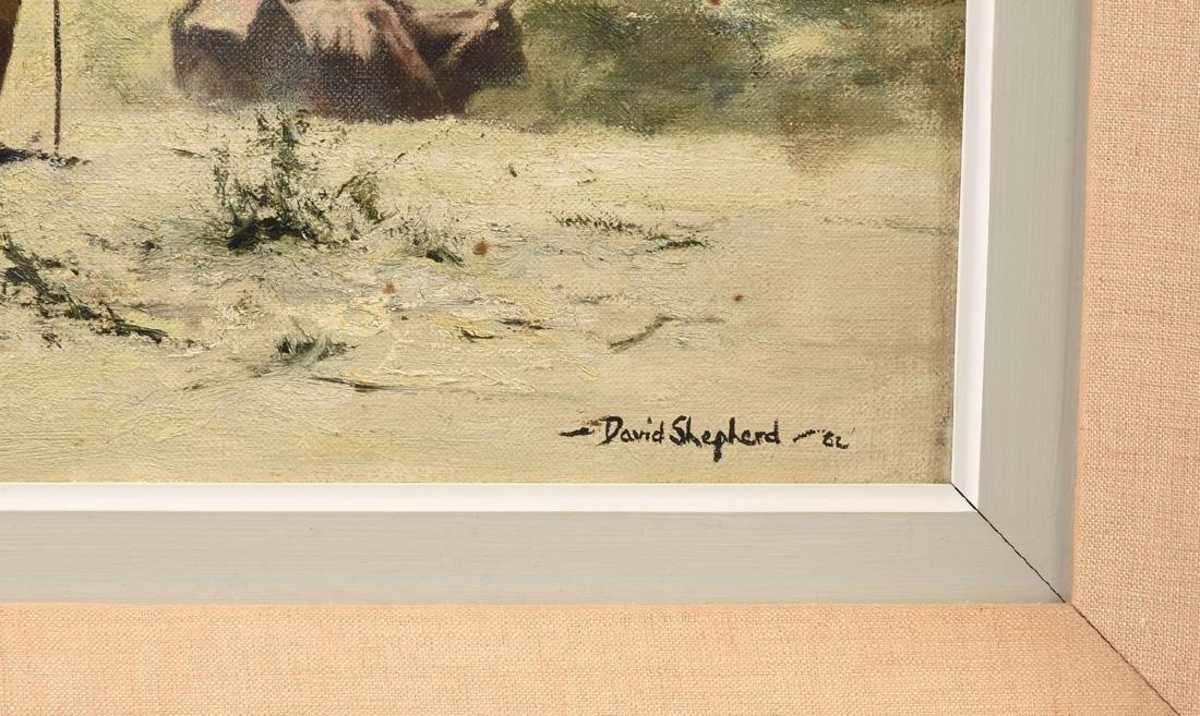 "DAVID SHEPHERD (British 1931-2017) A PAINTING, ""The - 6"
