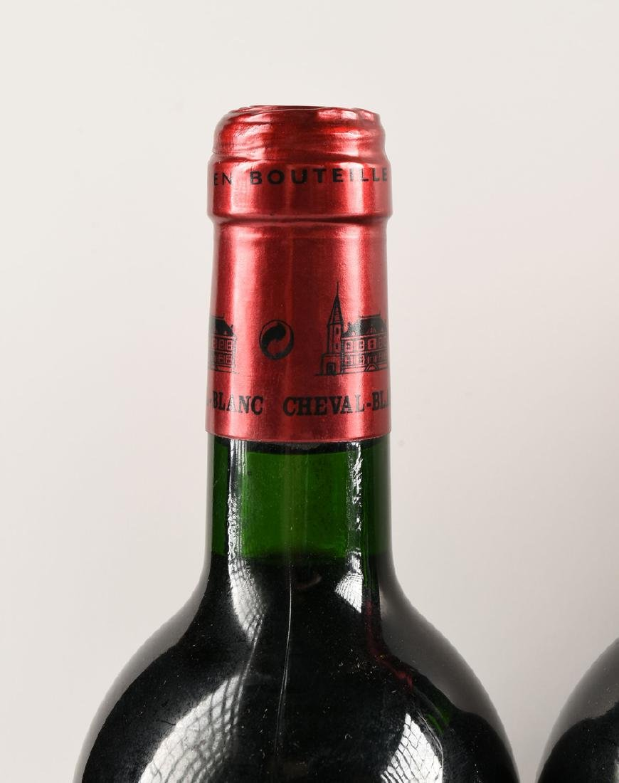 A GROUP OF EIGHT BOTTLES OF 1997 CHÂTEAU CHEVAL BLANC - 10