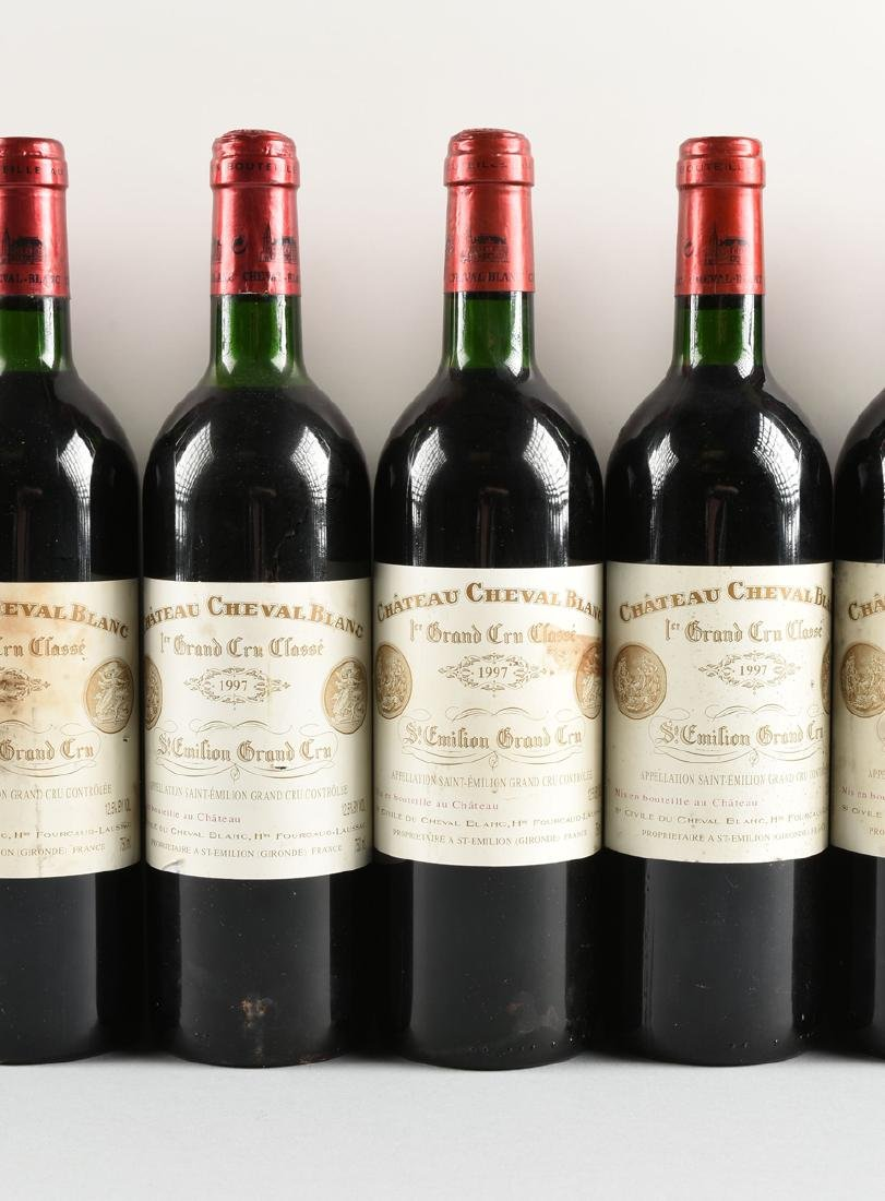 A GROUP OF EIGHT BOTTLES OF 1997 CHÂTEAU CHEVAL BLANC - 4