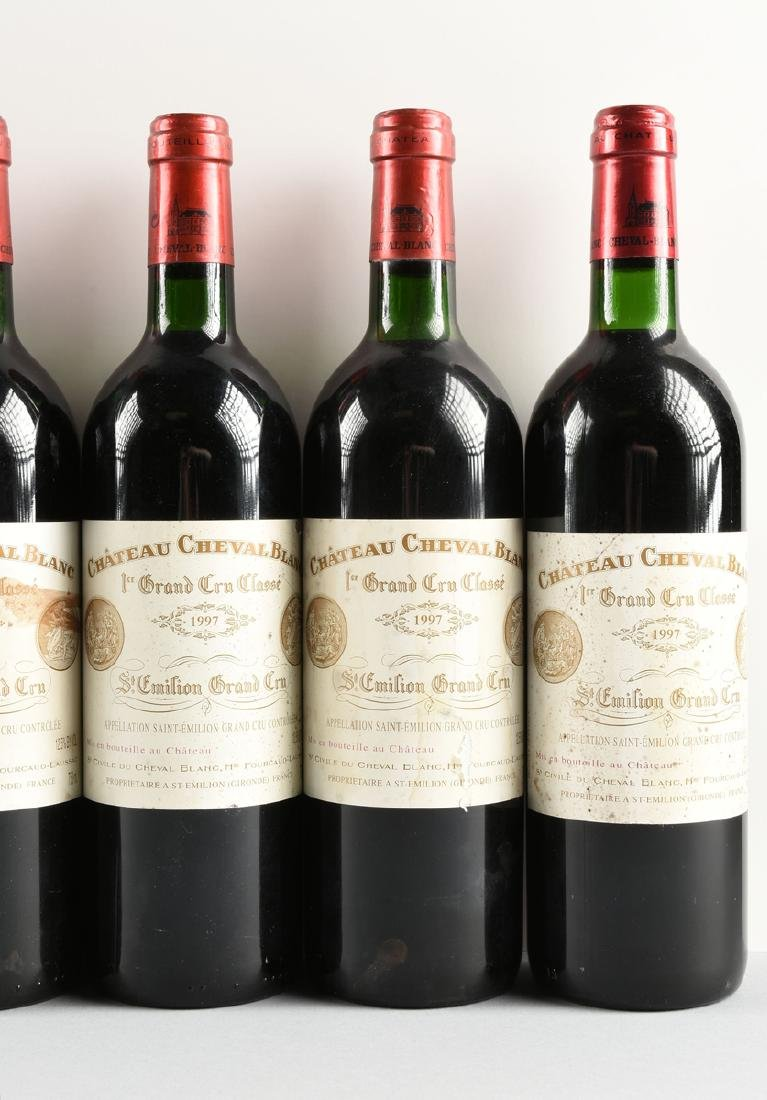 A GROUP OF EIGHT BOTTLES OF 1997 CHÂTEAU CHEVAL BLANC - 5