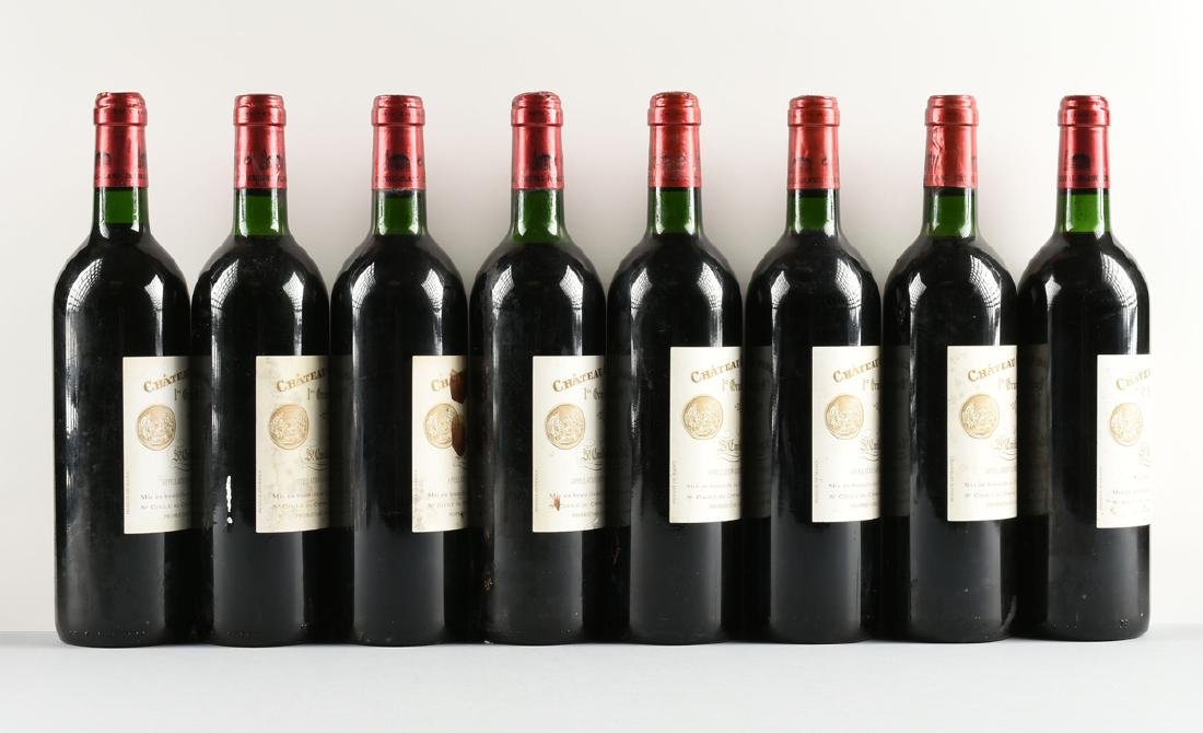 A GROUP OF EIGHT BOTTLES OF 1997 CHÂTEAU CHEVAL BLANC - 6
