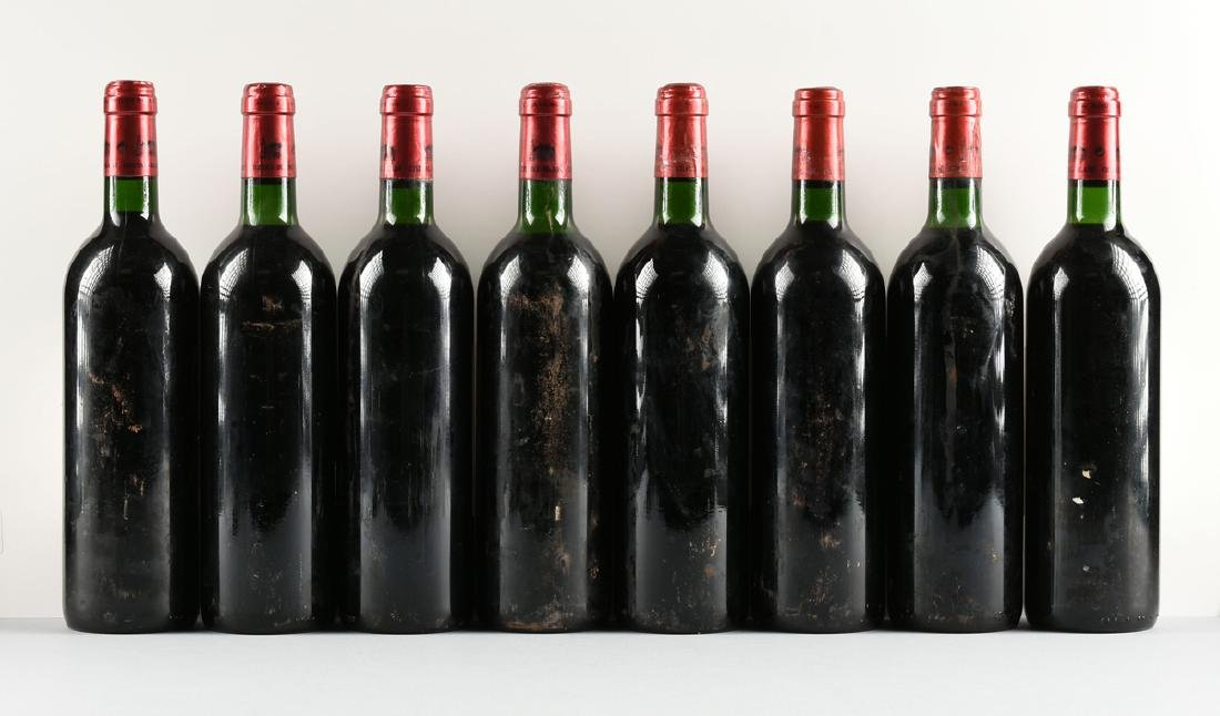 A GROUP OF EIGHT BOTTLES OF 1997 CHÂTEAU CHEVAL BLANC - 7