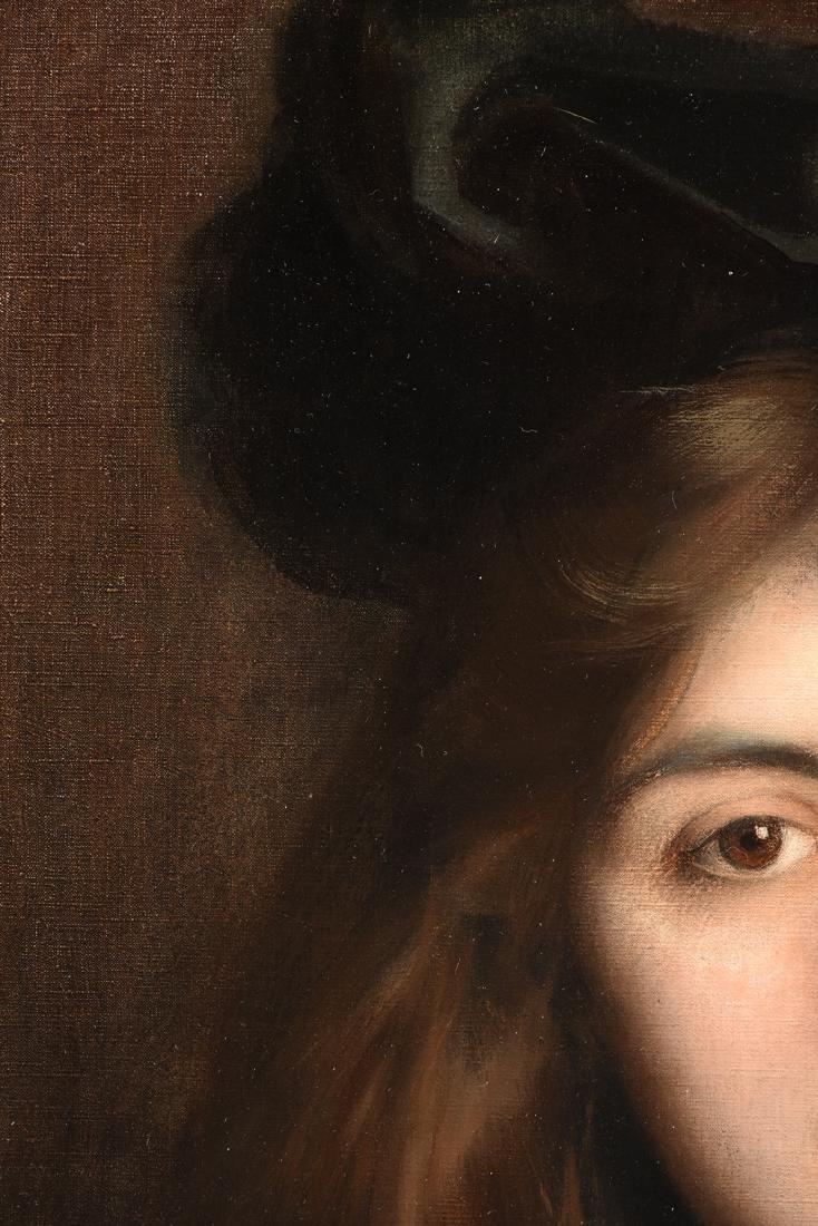 "ALBERT LYNCH (Peruvian 1851-1912) A PAINTING, ""Portrait - 10"