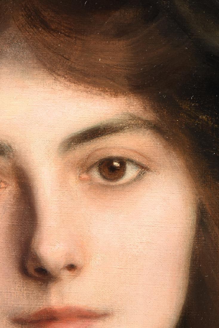 "ALBERT LYNCH (Peruvian 1851-1912) A PAINTING, ""Portrait - 11"