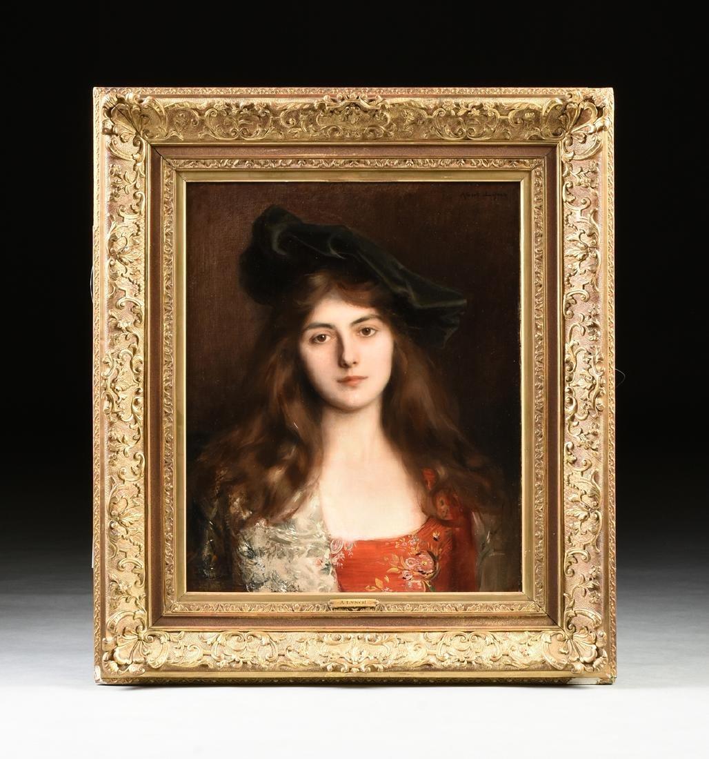 "ALBERT LYNCH (Peruvian 1851-1912) A PAINTING, ""Portrait - 3"