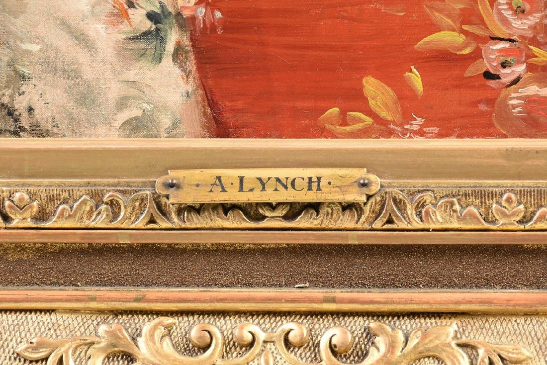"ALBERT LYNCH (Peruvian 1851-1912) A PAINTING, ""Portrait - 5"