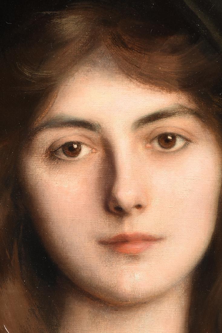 "ALBERT LYNCH (Peruvian 1851-1912) A PAINTING, ""Portrait - 6"