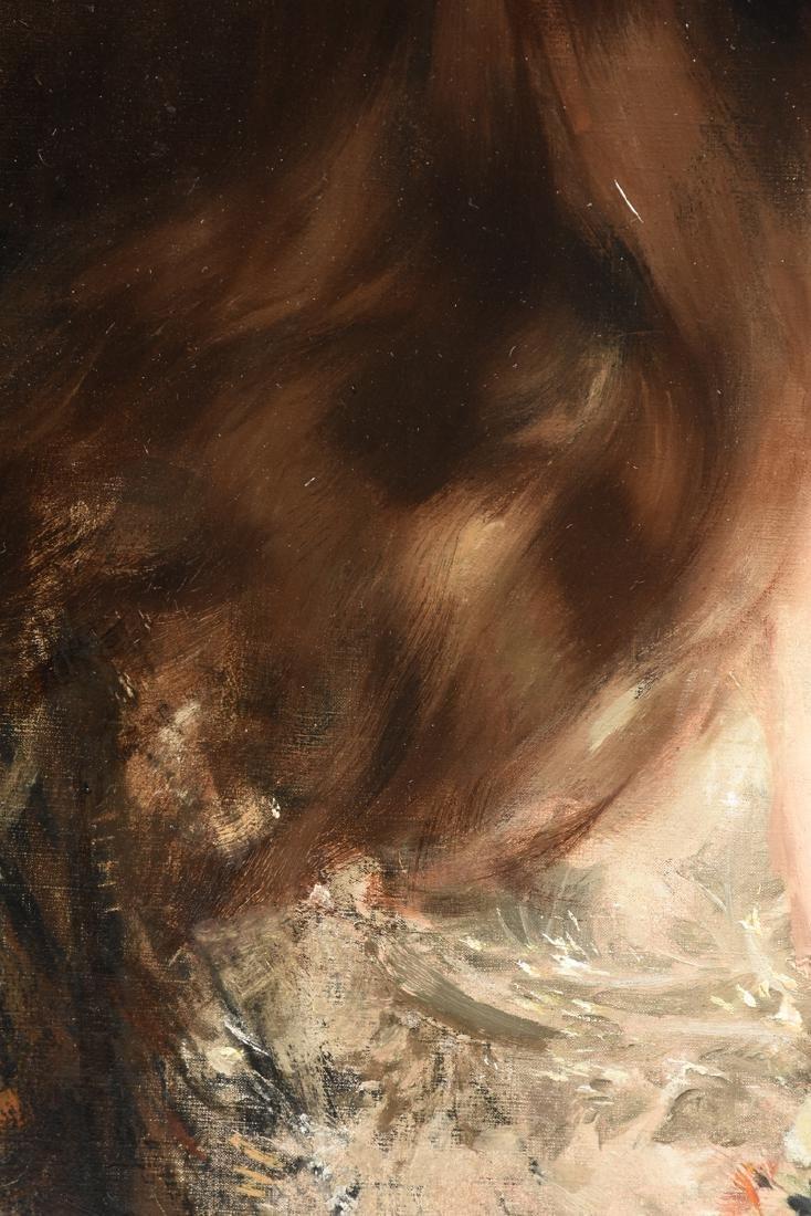 "ALBERT LYNCH (Peruvian 1851-1912) A PAINTING, ""Portrait - 7"