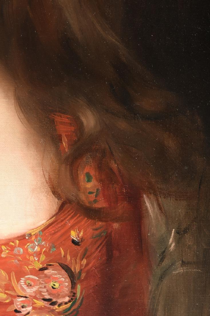 "ALBERT LYNCH (Peruvian 1851-1912) A PAINTING, ""Portrait - 8"