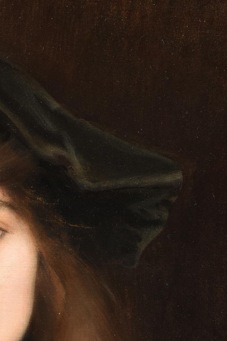 "ALBERT LYNCH (Peruvian 1851-1912) A PAINTING, ""Portrait - 9"