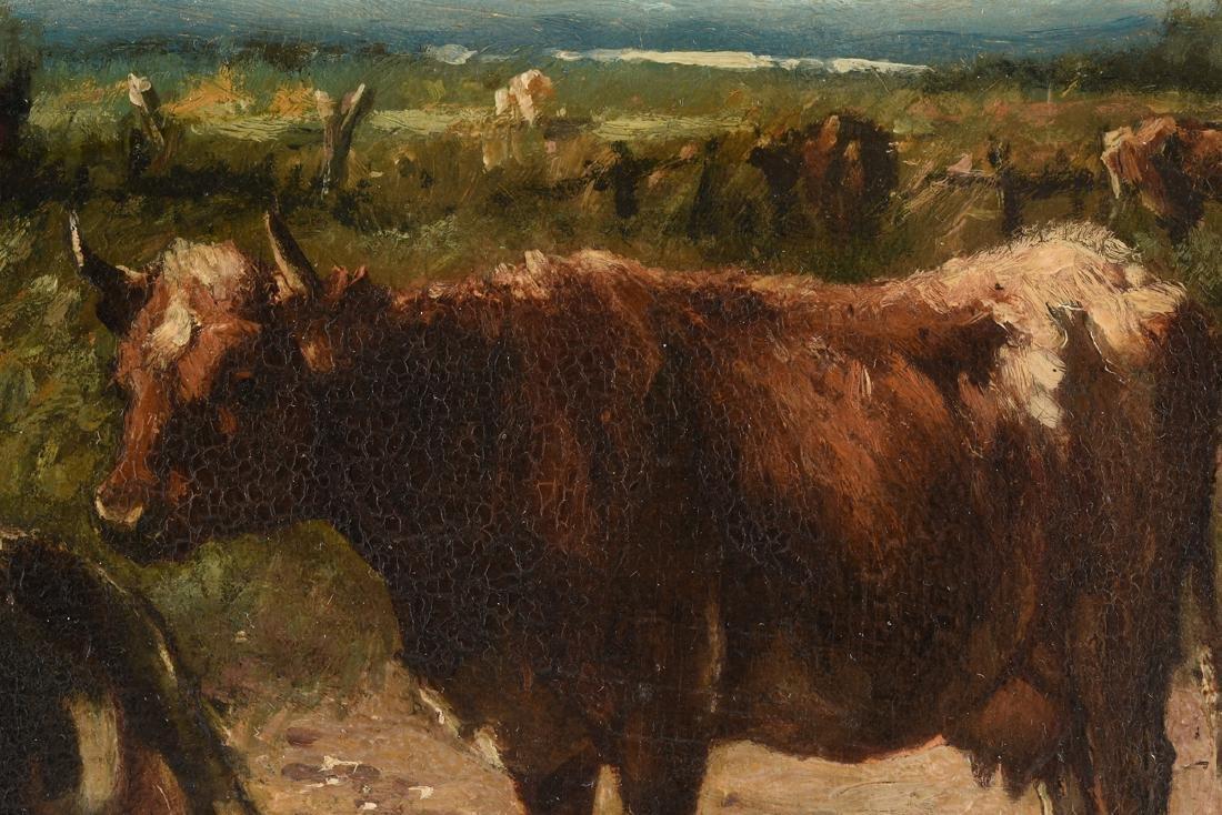 JOHANNES HUBERTUS LEONARDUS DE HAAS (Dutch 1832-1908) A - 8