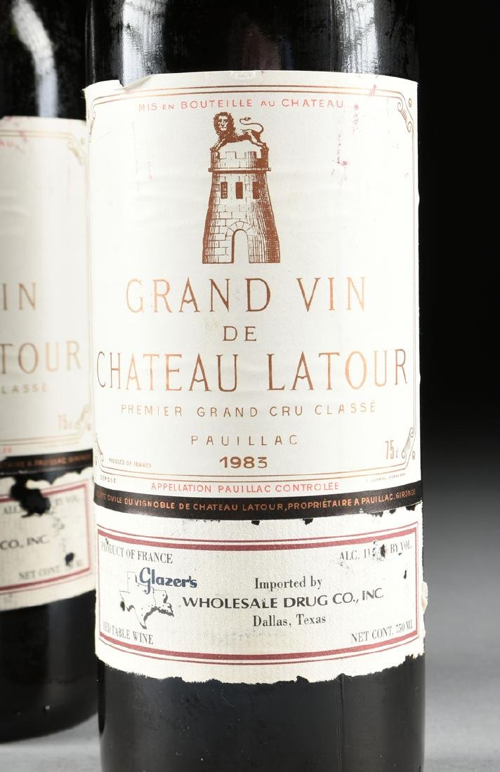 A GROUP OF TWO BOTTLES OF 1983 GRAND VIN DE CHÂTEAU - 2