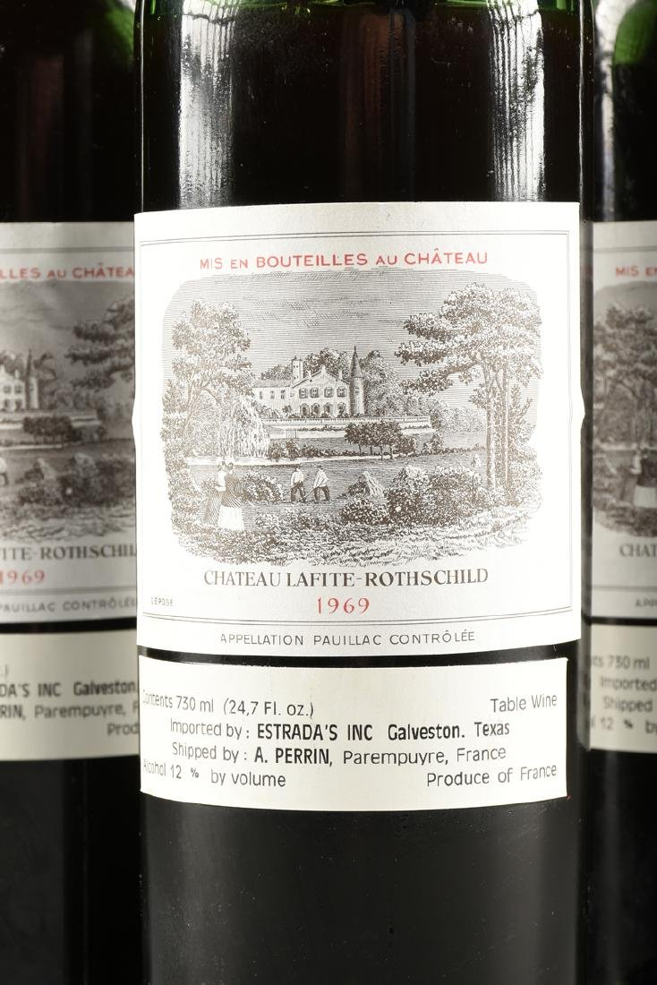 A GROUP OF SIX BOTTLES OF 1969 CHÂTEAU - 2