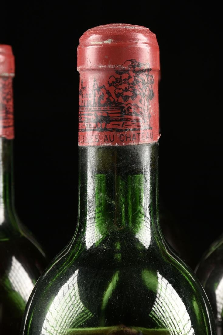 A GROUP OF SIX BOTTLES OF 1969 CHÂTEAU - 3