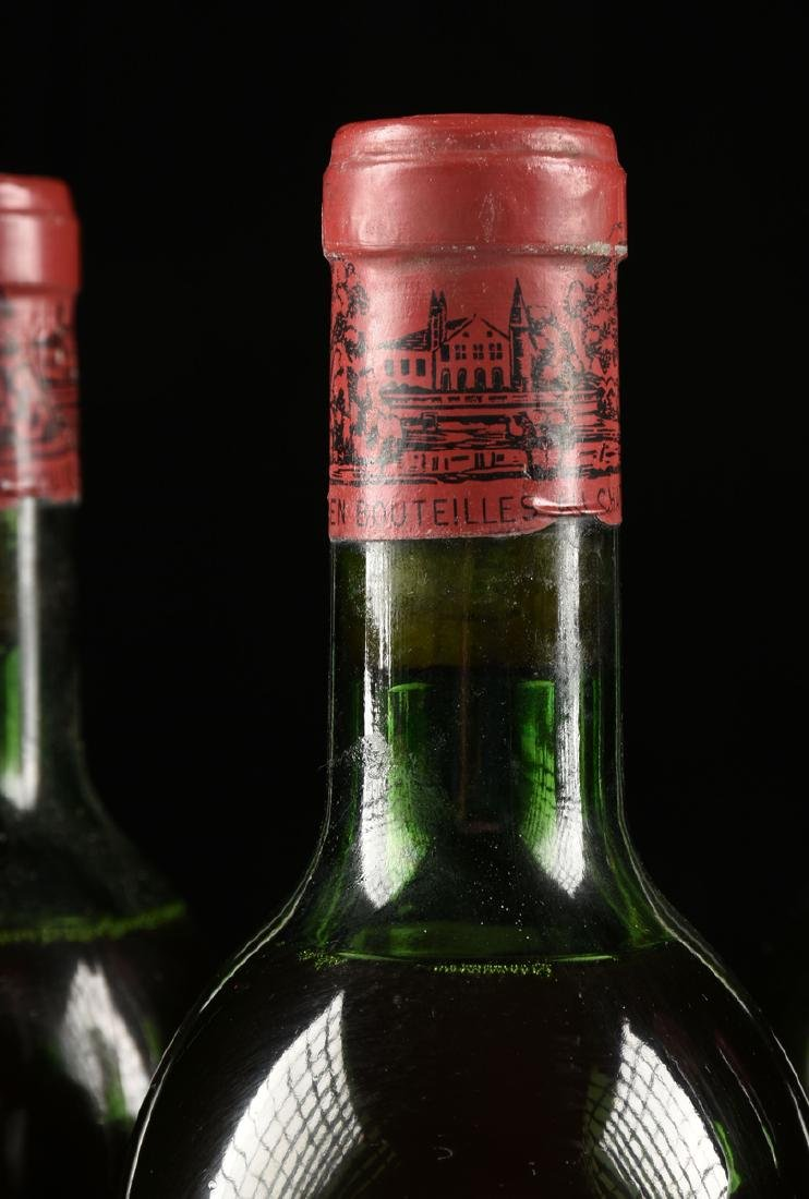A GROUP OF SIX BOTTLES OF 1969 CHÂTEAU - 4