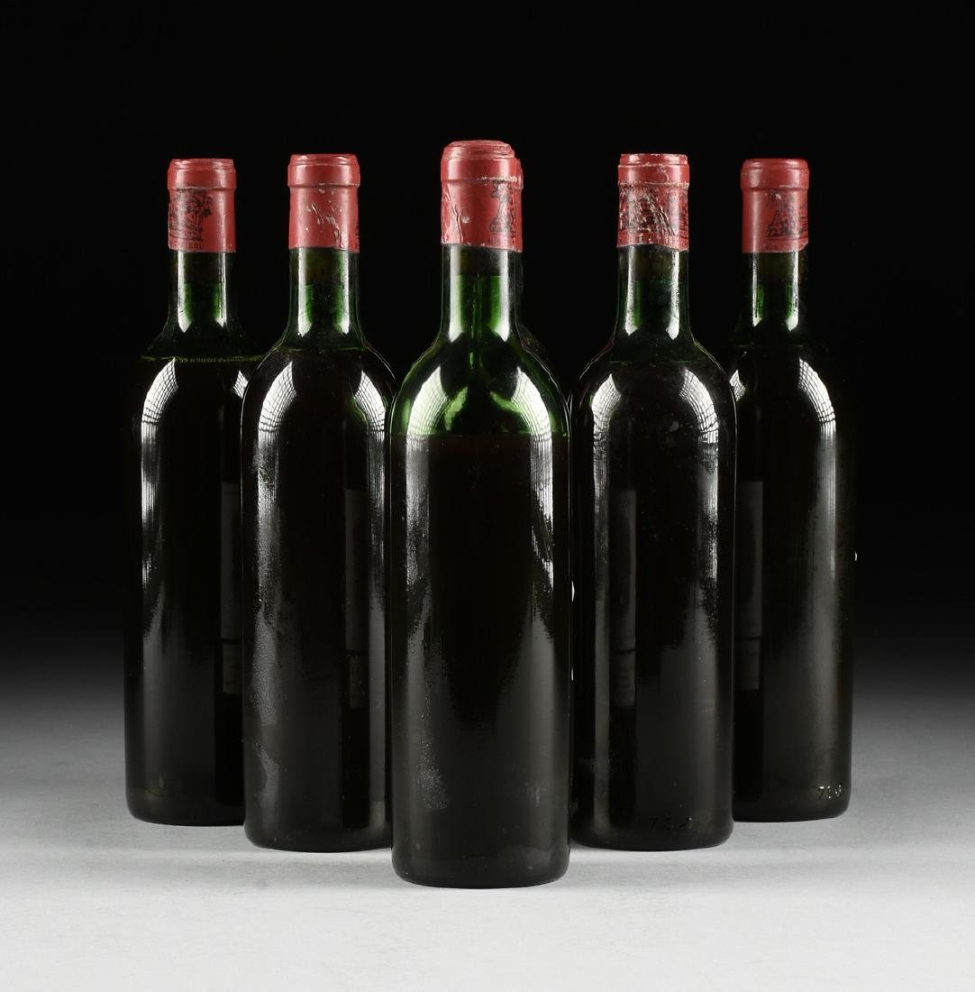 A GROUP OF SIX BOTTLES OF 1969 CHÂTEAU - 9