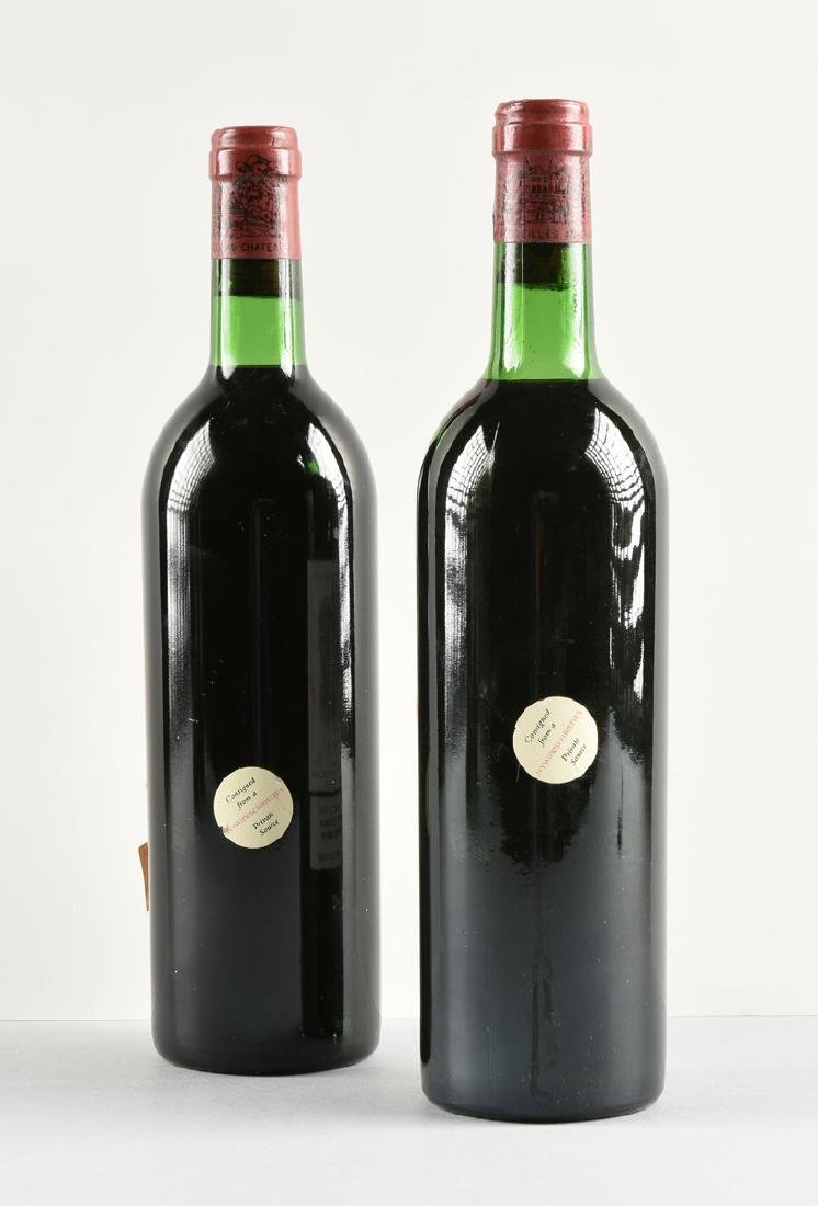 TWO BOTTLES OF 1975 CHÂTEAU LAFITE-ROTHSCHILD, - 5