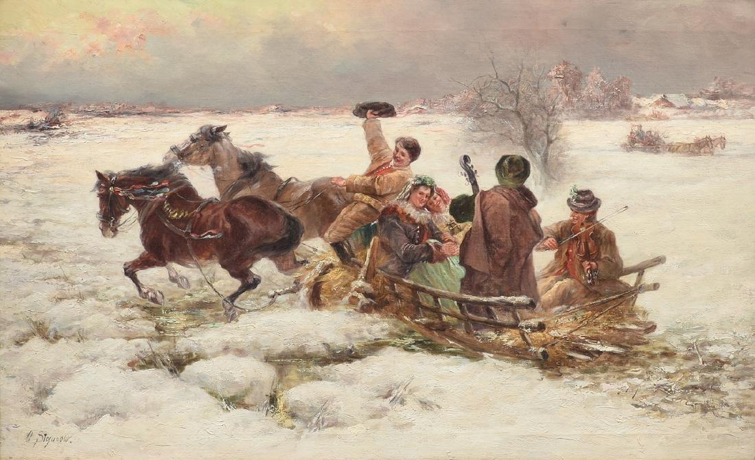 after ALFRED VON WIERUSZ-KOWALSKI (Polish/Russian