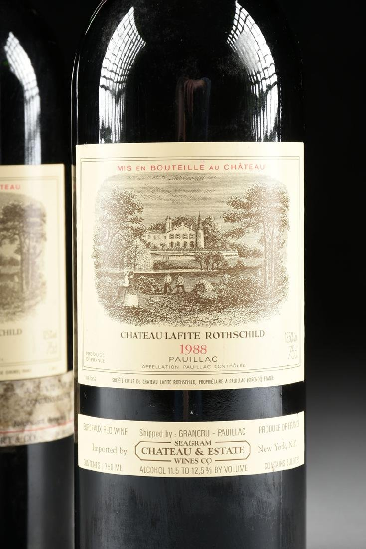 A GROUP OF ONE 1988 AND ONE 1989 BOTTLE OF CHÂTEAU - 2
