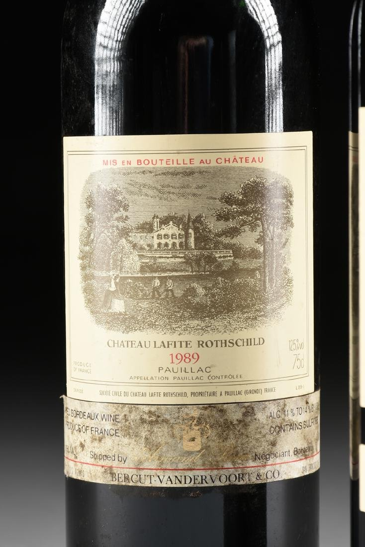 A GROUP OF ONE 1988 AND ONE 1989 BOTTLE OF CHÂTEAU - 3
