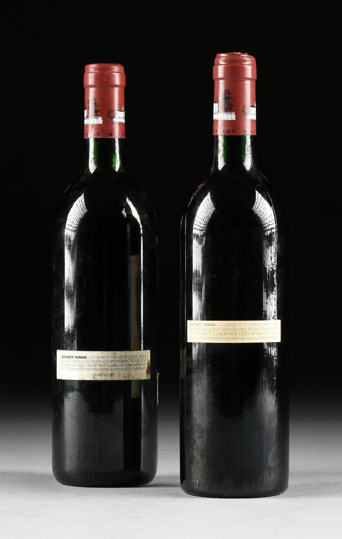 A GROUP OF ONE 1988 AND ONE 1989 BOTTLE OF CHÂTEAU - 5