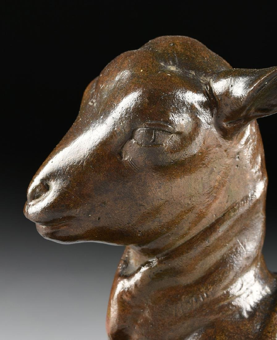 VICTOR PETER (French 1840-1918) A BRONZE SCULPTURE, - 5