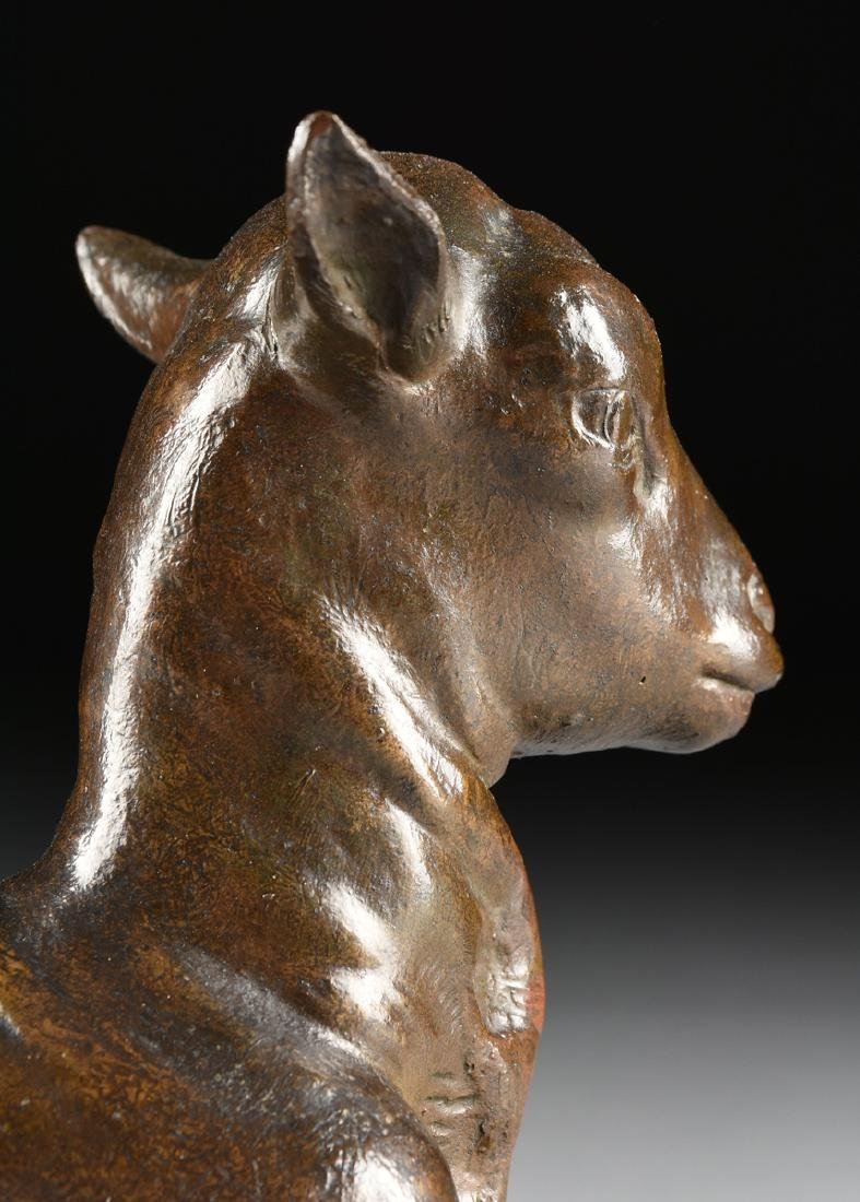 VICTOR PETER (French 1840-1918) A BRONZE SCULPTURE, - 9