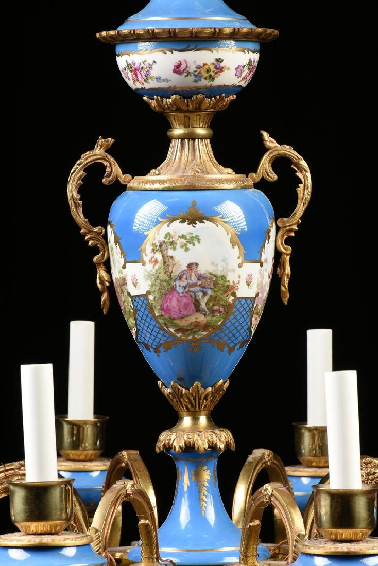 A FRENCH LOUIS XV STYLE GILT BRONZE MOUNTED GILT AND - 2