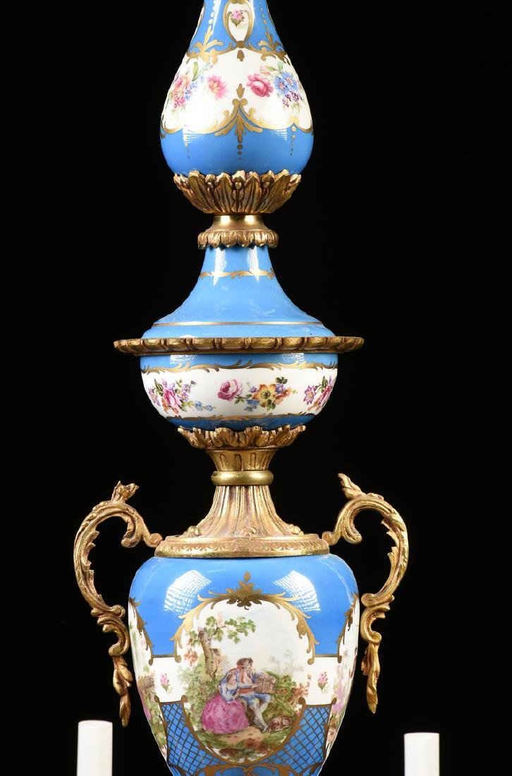 A FRENCH LOUIS XV STYLE GILT BRONZE MOUNTED GILT AND - 3
