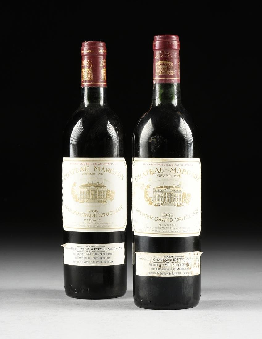 A GROUP OF ONE 1986 AND ONE 1989 BOTTLE OF CHÂTEAU